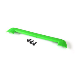 8912G - Tailgate protector, green/ 3x15mm flat-head screw (4)