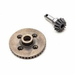 AXI232054 Front Rear Ring 38T, Pinion 13T, MOD 1: RBX10