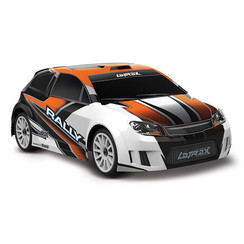 75054-5 - LaTrax® Rally: 1/18 Scale 4WD Electric Rally Racer. Ready-To-Race® and Powered by Traxxas® with ESC (fwd/rev) and brushed motor. Includes: 5-Cell NiMH 1200mAh LaTrax battery with AC charger