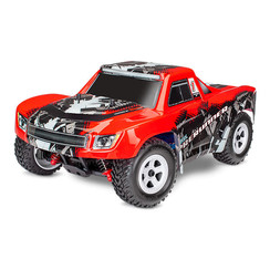 76064-5 - LaTrax® Desert Prerunner: 1/18-Scale 4WD Electric Truck. Ready-To-Race®, with 2.4GHz radio system, 370 motor, waterproof, all-weather electronics, 6-cell 7.2V NiMH battery with AC charger, and painted body.