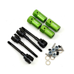 C23024GREEN EXT + 15mm Axle/Whe