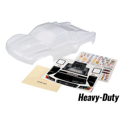 6811R - Body, Slash 4X4, heavy duty (clear, requires painting)/ window masks/ decal sheet