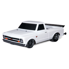 94076-4 - Drag Slash: 1/10 Scale 2WD Drag Racing Truck. Ready-to-Race® with TQi Traxxas Link™ Enabled 2.4GHz Radio System, Velineon® VXL-3s brushless ESC (fwd/rev), and Traxxas Stability Management (TSM)®.
