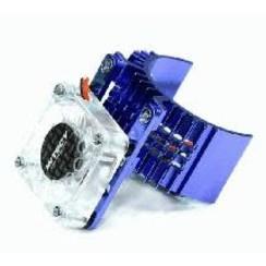 Motor Heatsink 540 Size w/ Cooling Fan for Slash Stampede 2WD Rustler 2WD Bandit  In Stock - T8074BLUE