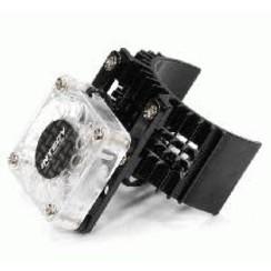 Motor Heatsink 540 Size w/ Cooling Fan for Slash Stampede 2WD Rustler 2WD Bandit  In Stock - T8074BLACK