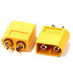 INTC24547 XT60 Connector (2) Male 3.5mm