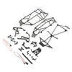 LOS231041 Roll Cage Set: Tenacity Desert Buggy