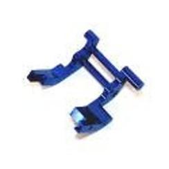 SPTST3677BAluminum Rear Motor Guard, Blue, for Traxxas Slash/Stampede VXL/Rustler VXL/Bandit VXL