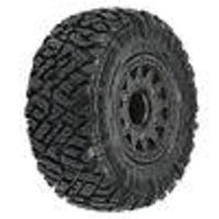 "PRO1018210 Icon SC 2.2""/3.0"" M2 Tires MTD Black Whls SC F/R"