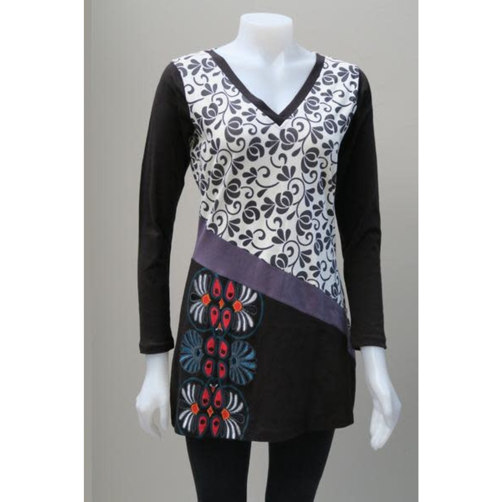 LEOPARDS AND ROSES Leopards and Roses Tunics