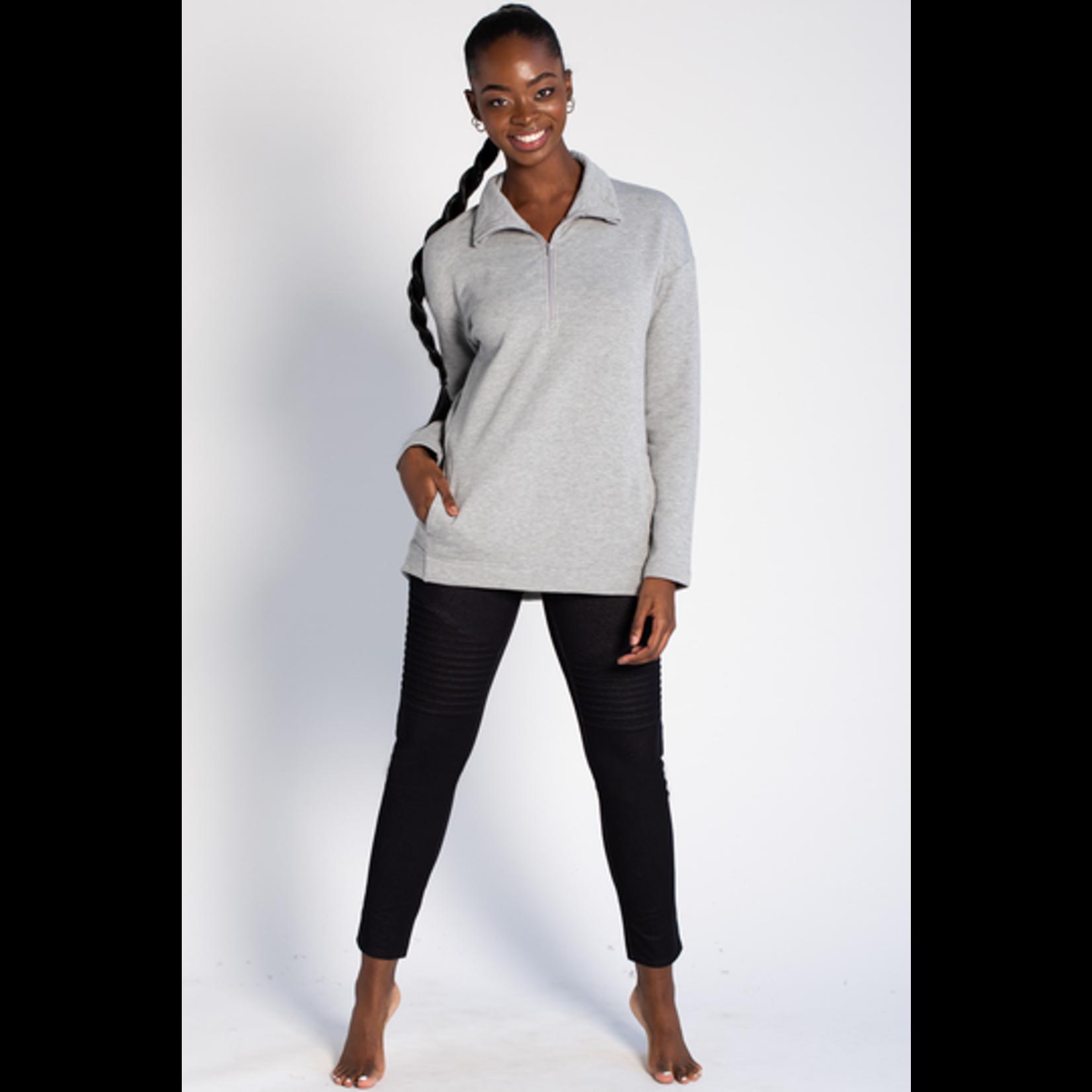 TERRERA Terrera Naomi Half Zip Sweater