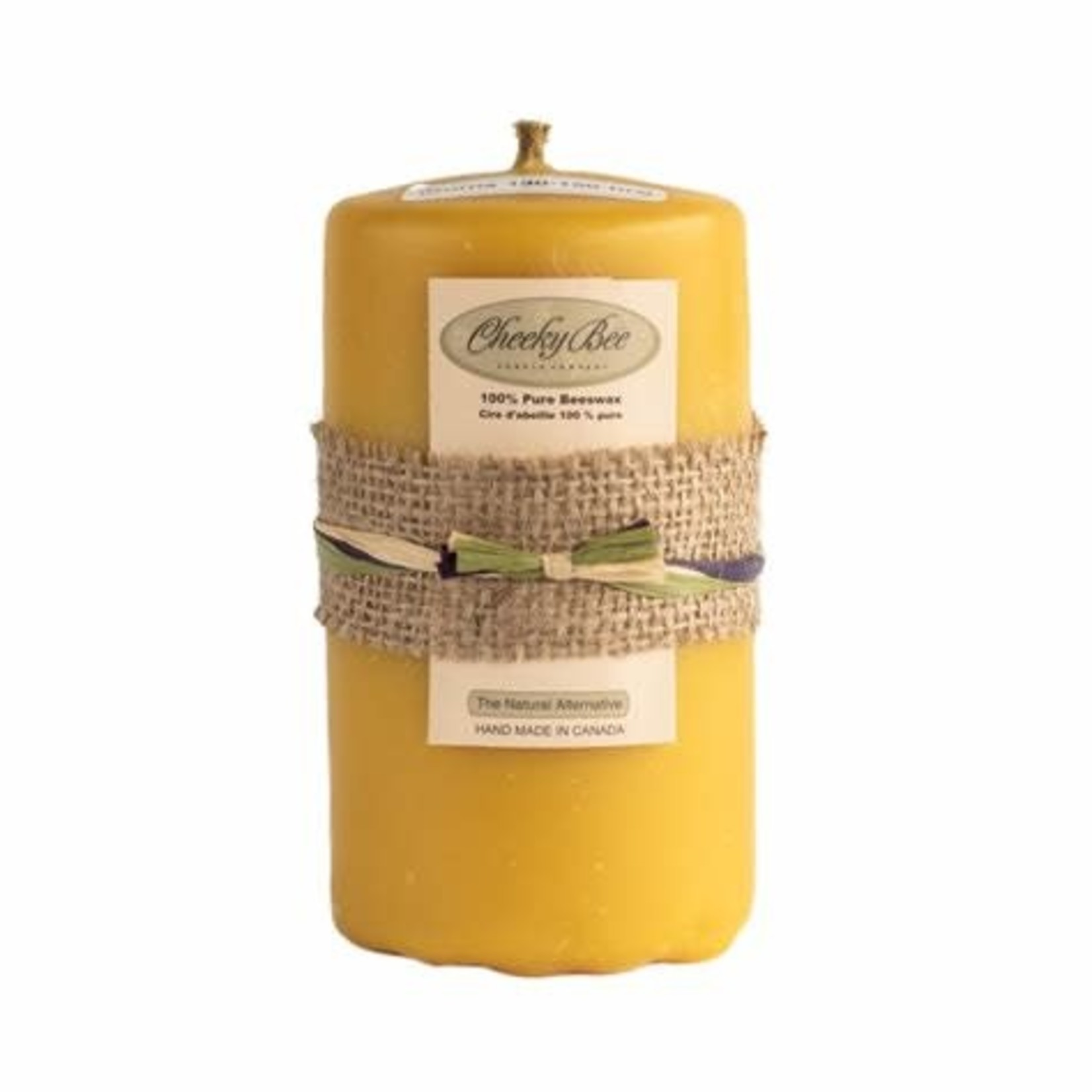 Cheeky Bee Candles Pillar Candle