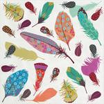 Abbott Feather Paper Napkins