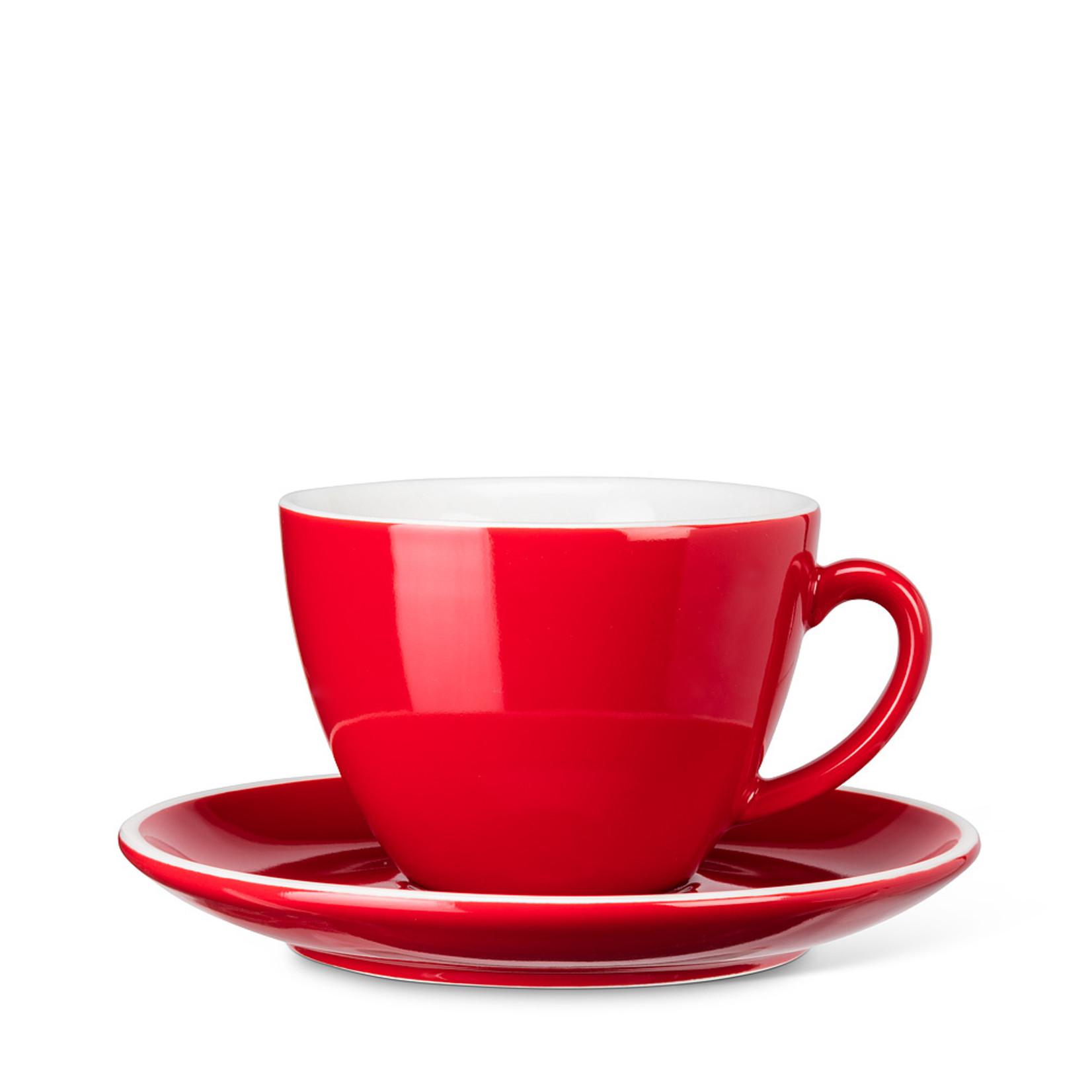 Abbott Red Cappucino w/ saucer