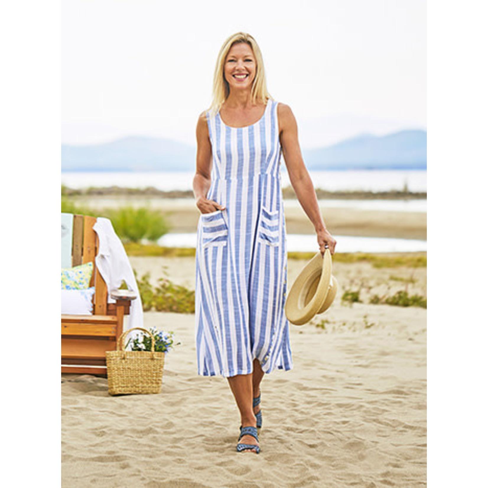 April Cornell April Cornell Bahama Stripe Dress
