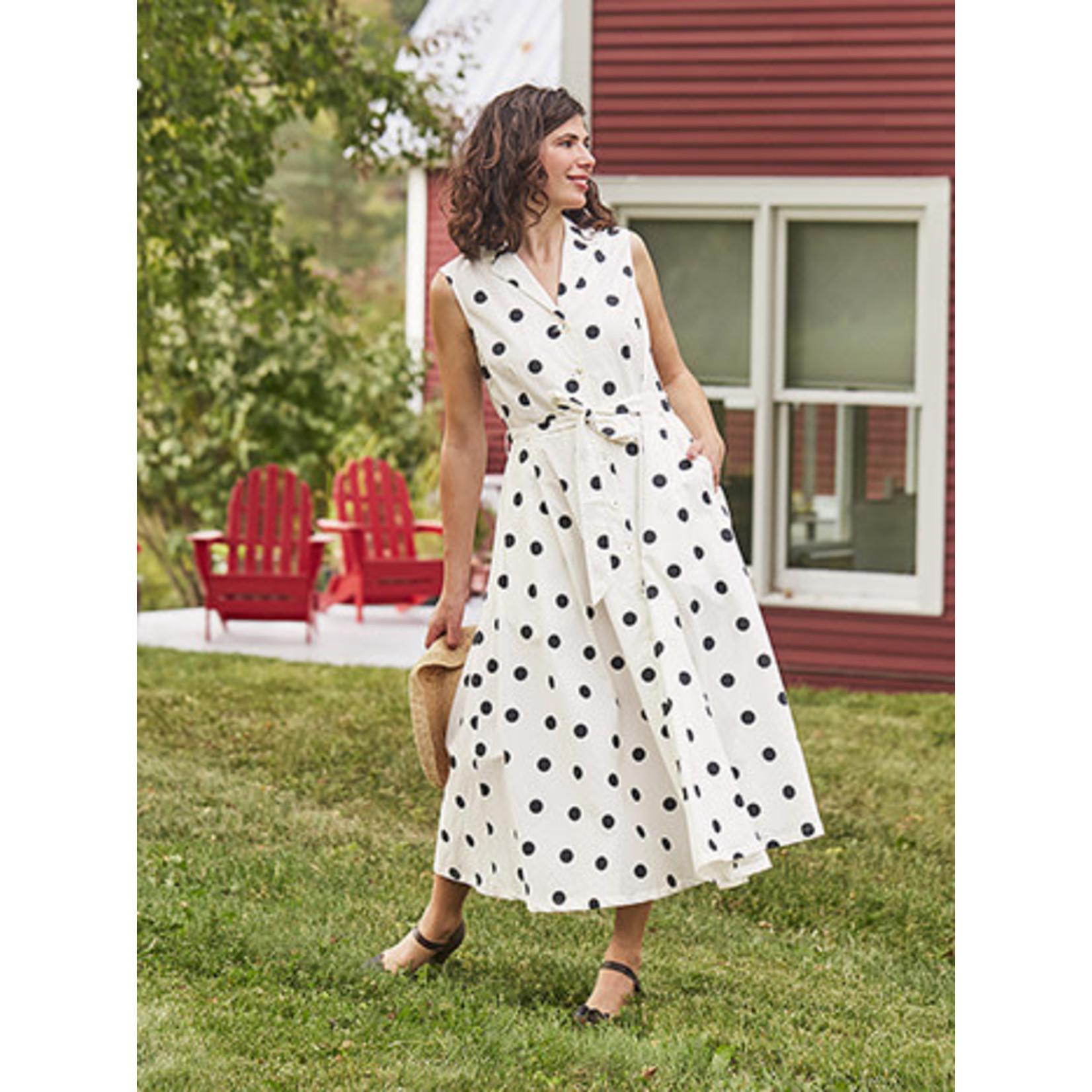 April Cornell Sadie Dot Dress