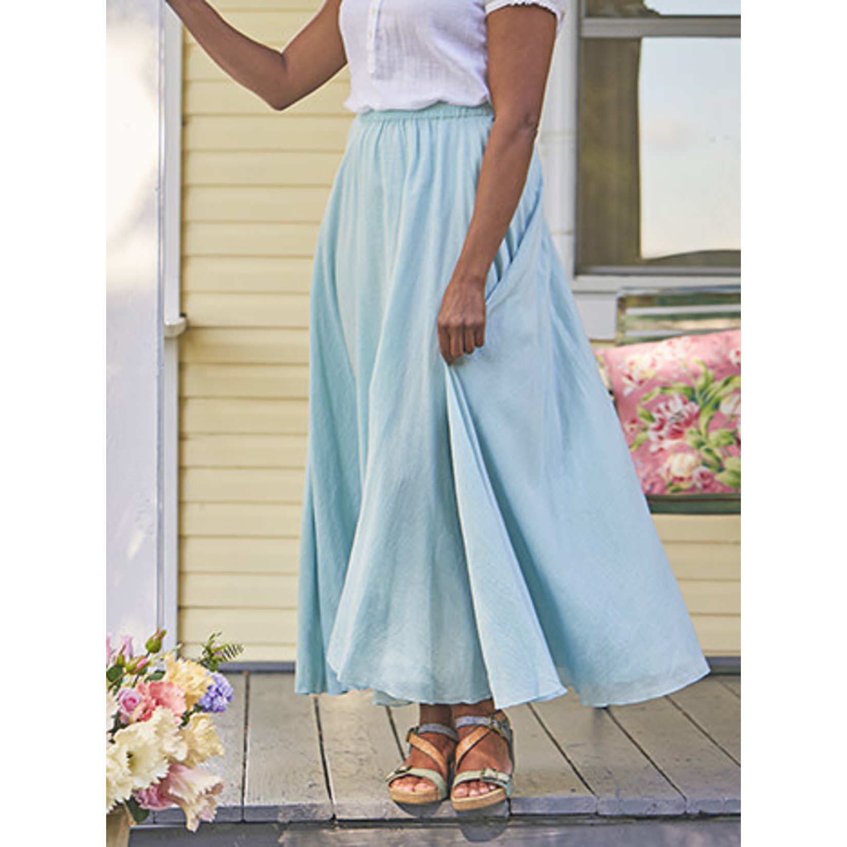 April Cornell Paradise Skirt