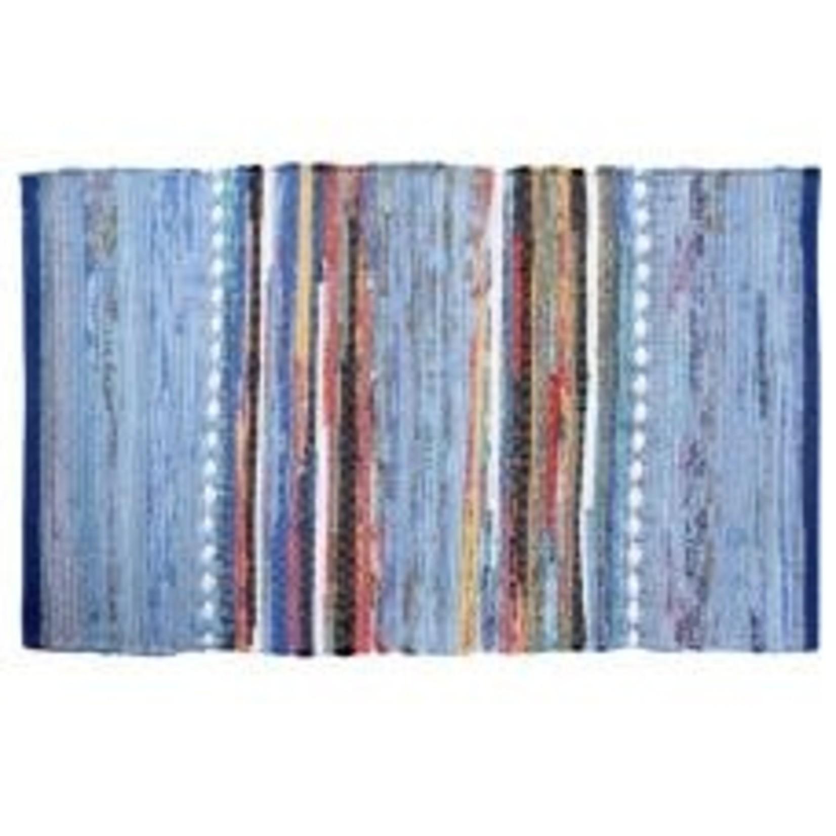 Gajmoti 20x32 Blue Cotton 53165