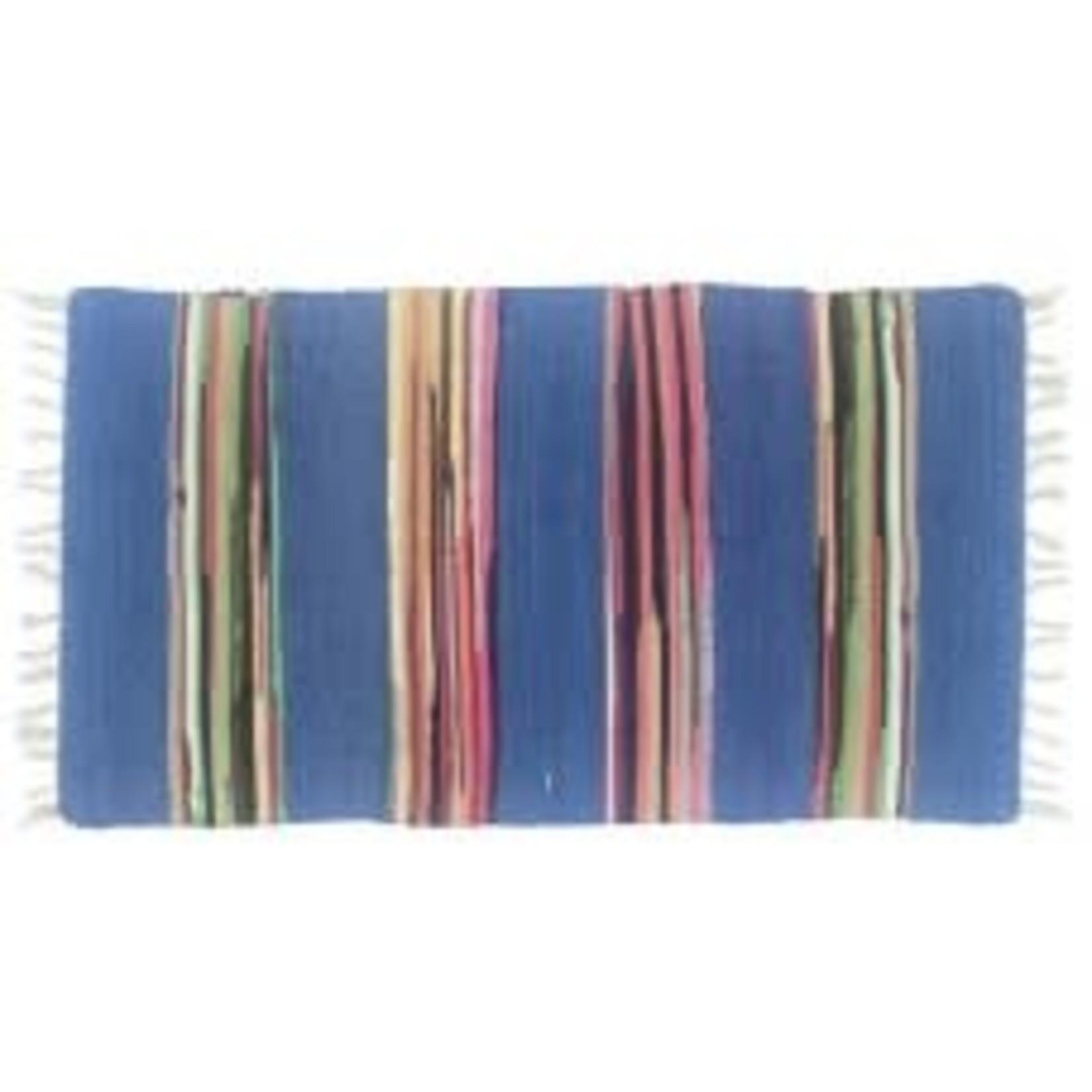 Gajmoti 24x48 Cotton/Chindi blue 53126-blu