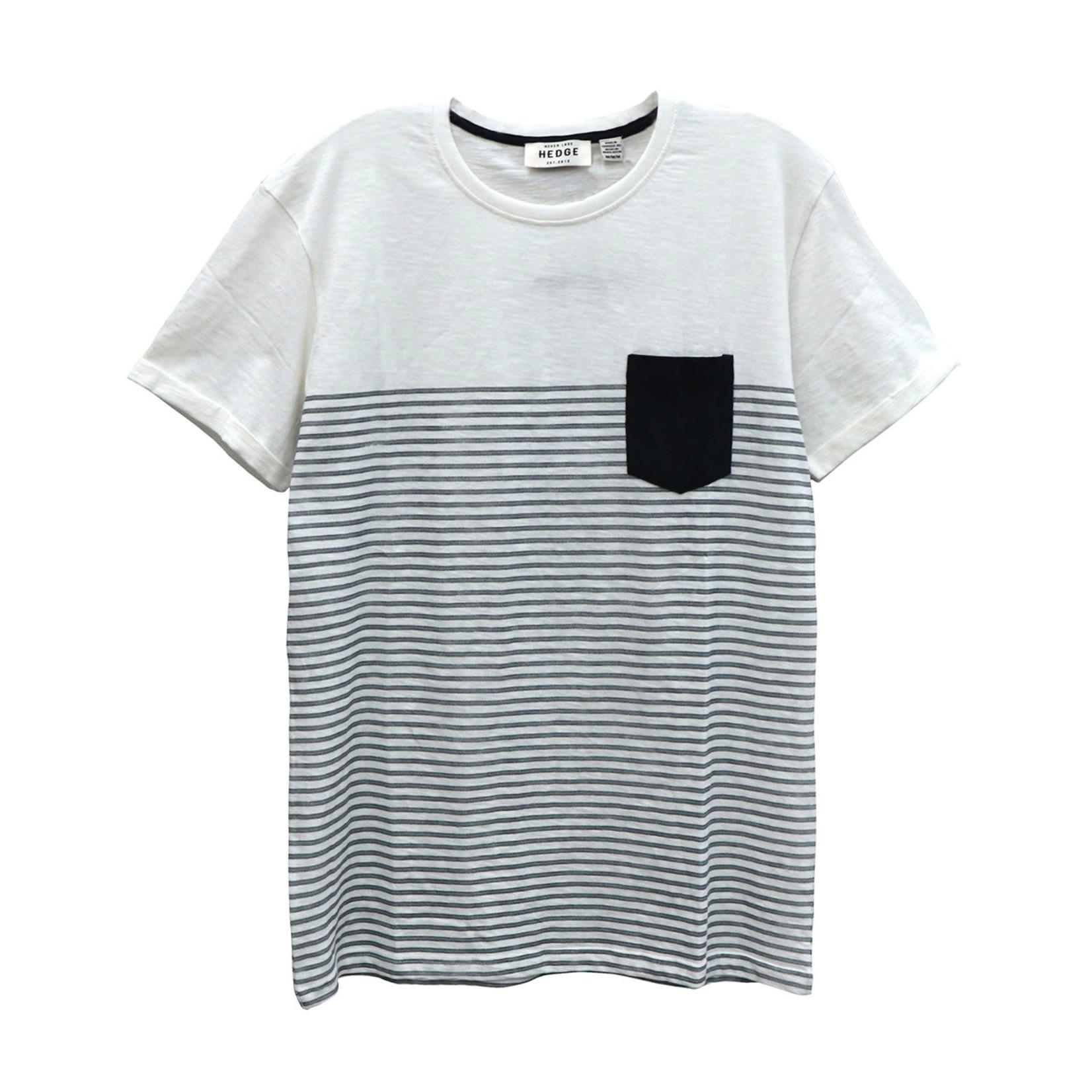 Hedge Men's knit tshirt off white