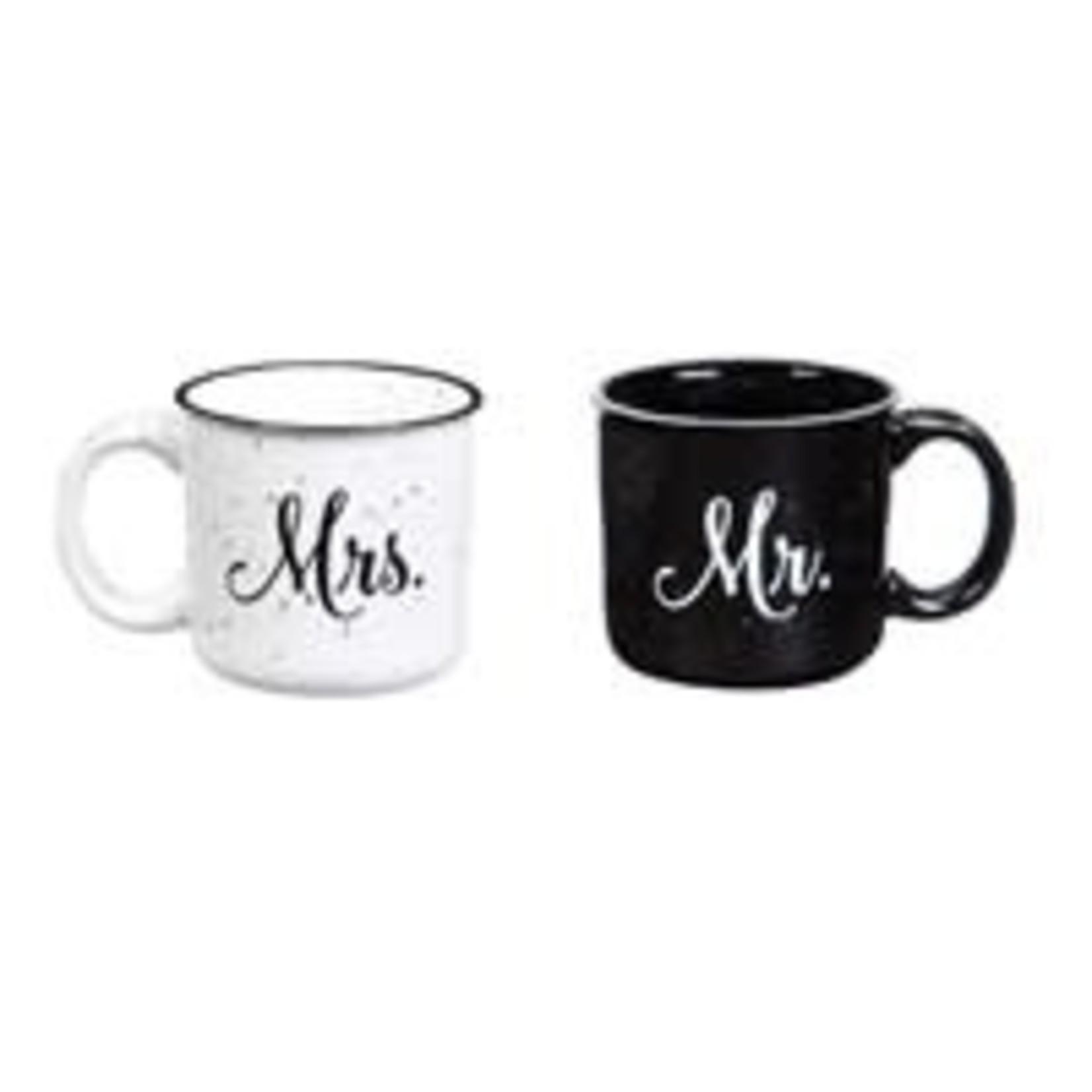 EVERGREEN Mr & Mrs. Mugs