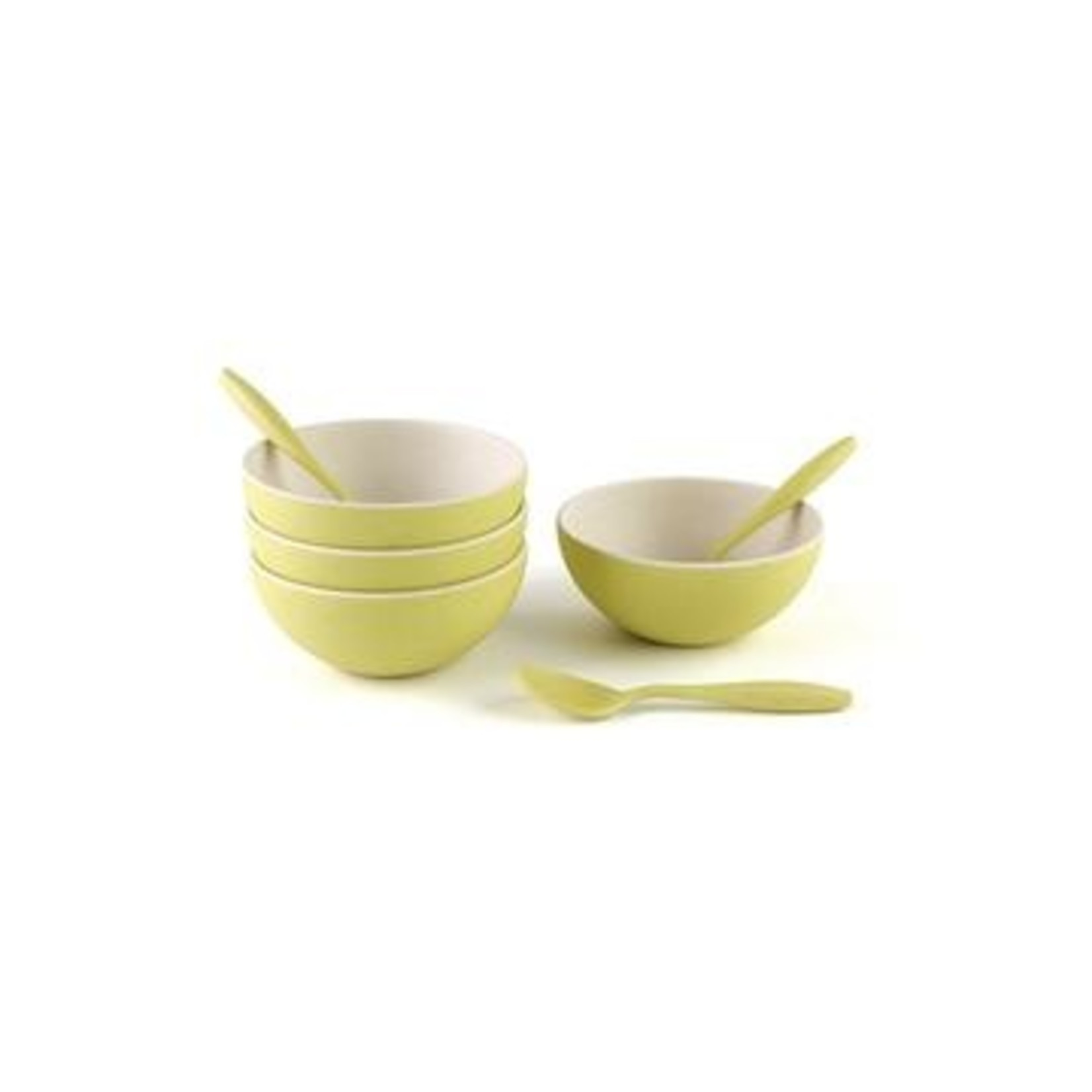 Petersons Housewares Peterson small bowl/spoon Yellow