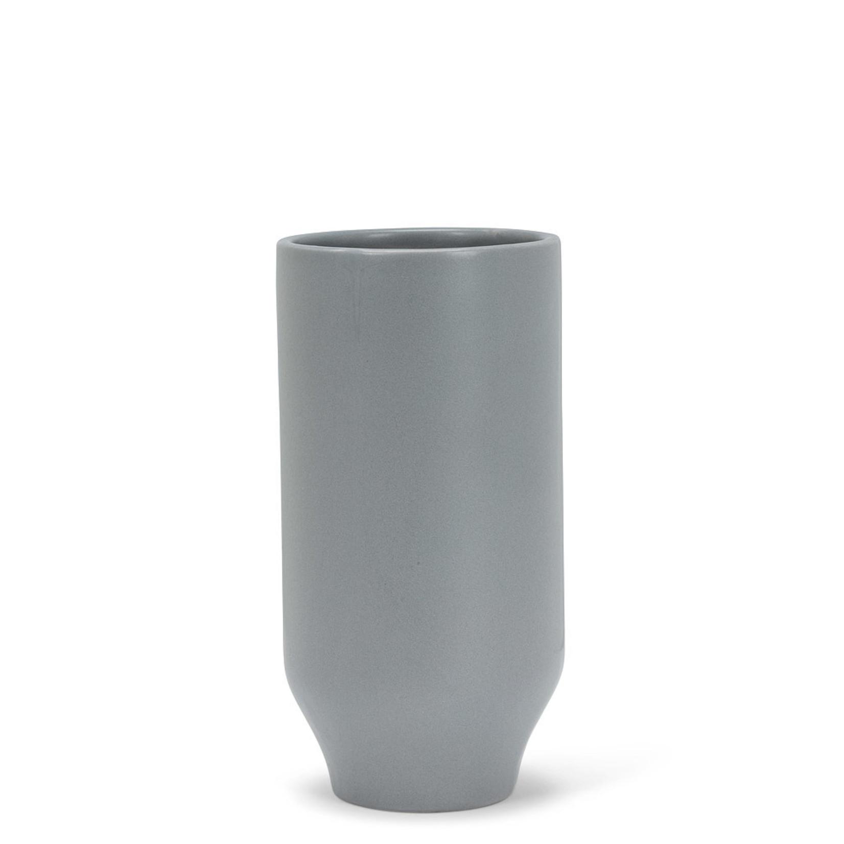 Abbott Medium Matte Vase grey