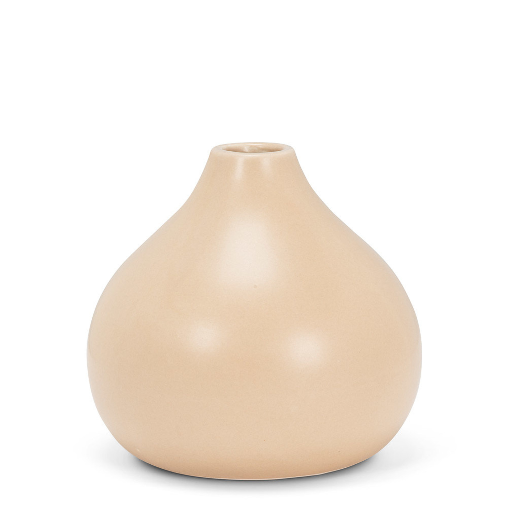 Abbott Medium Matte Vase gold