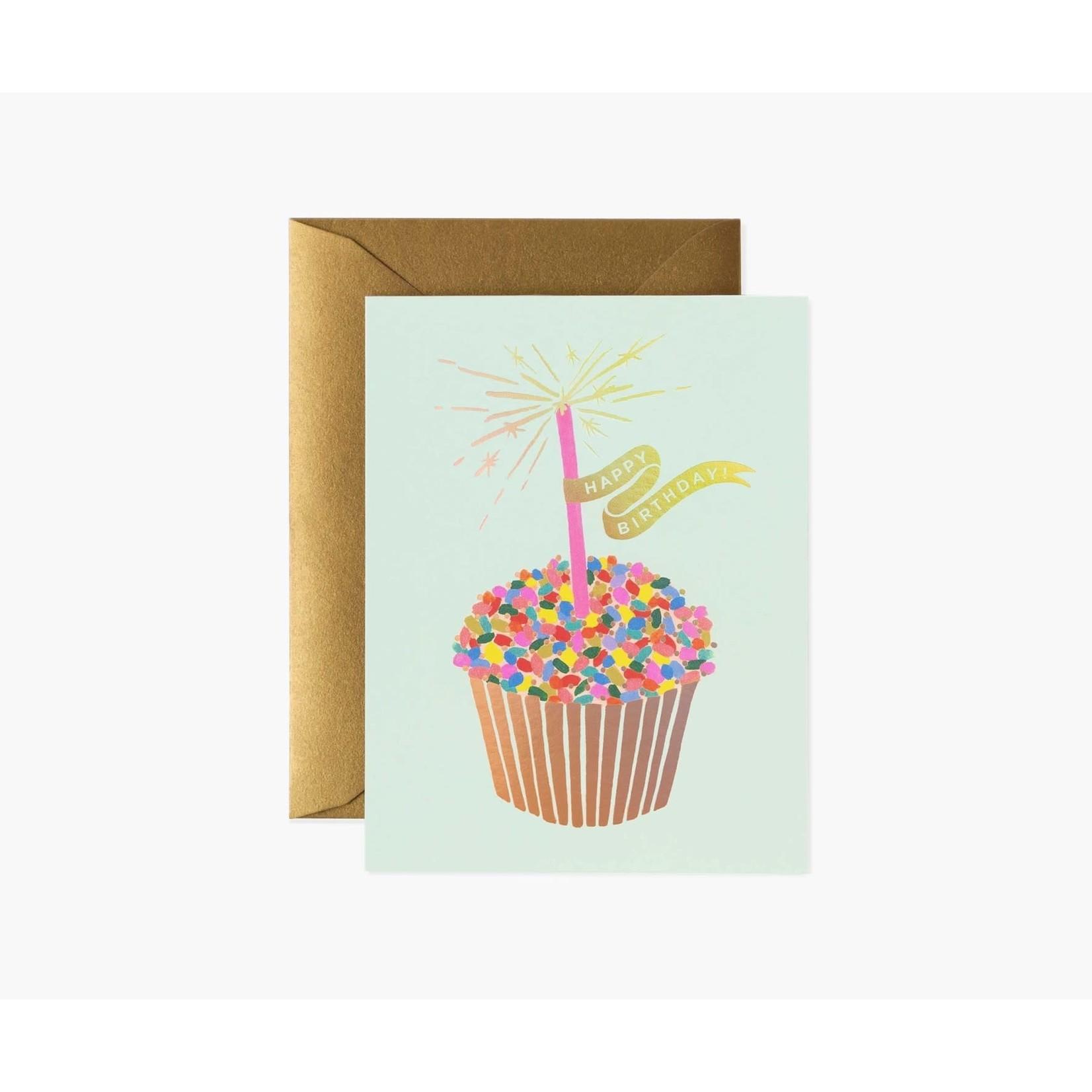 Rifle Paper Co. Happy  Birthday Cupcake