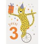 Calypso Cards You're Three