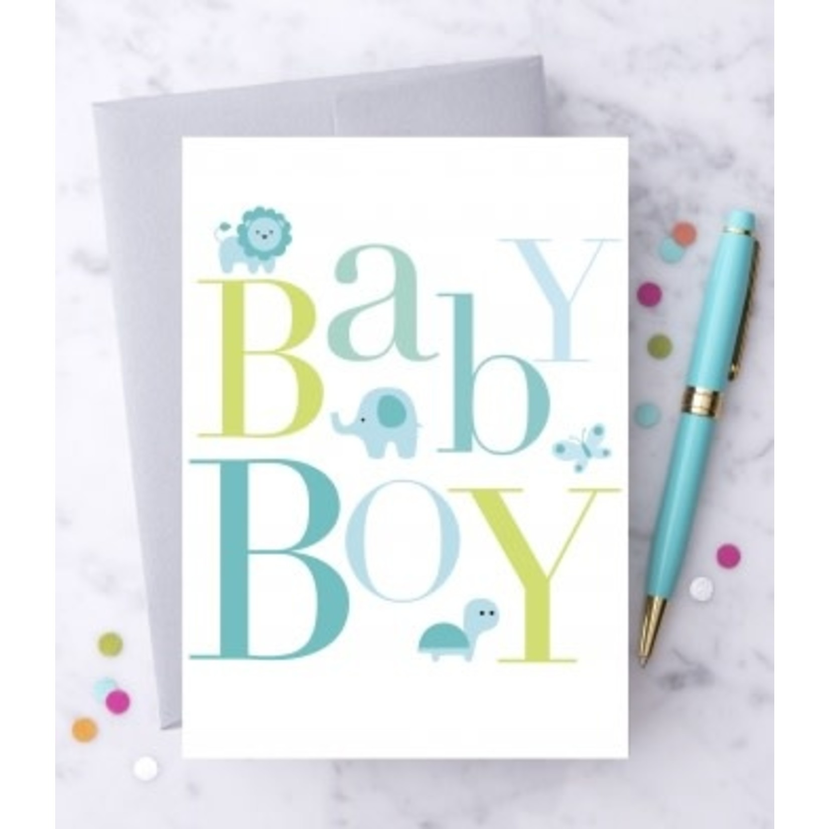 Design With Heart Baby Boy Blank