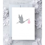 Design With Heart Baby Girl Blank