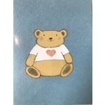 Paper Bird Teddy Bear Heart