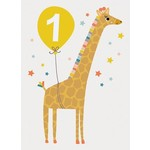 Calypso Cards One Birthday