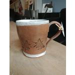 Cathy Lombard Pottery Tall Bee Mug