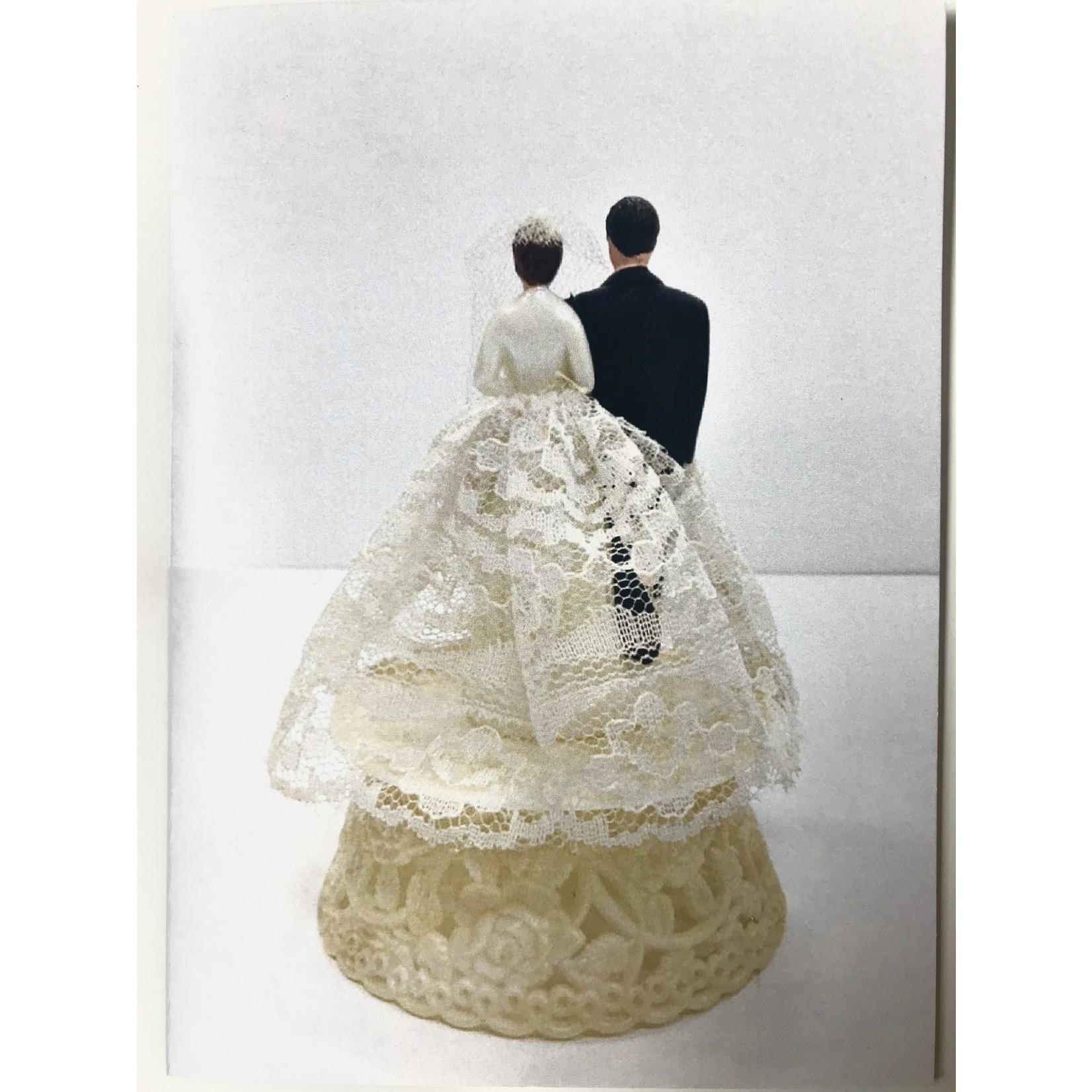 Retrospect Wedding Cake Topper