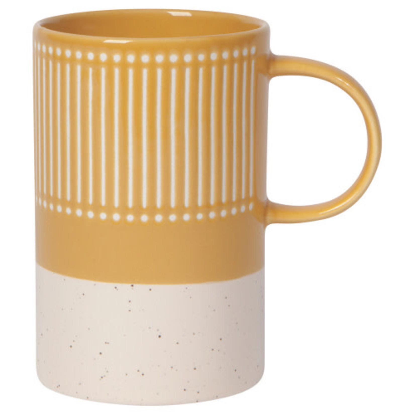 Danica Etch Mug Ochre