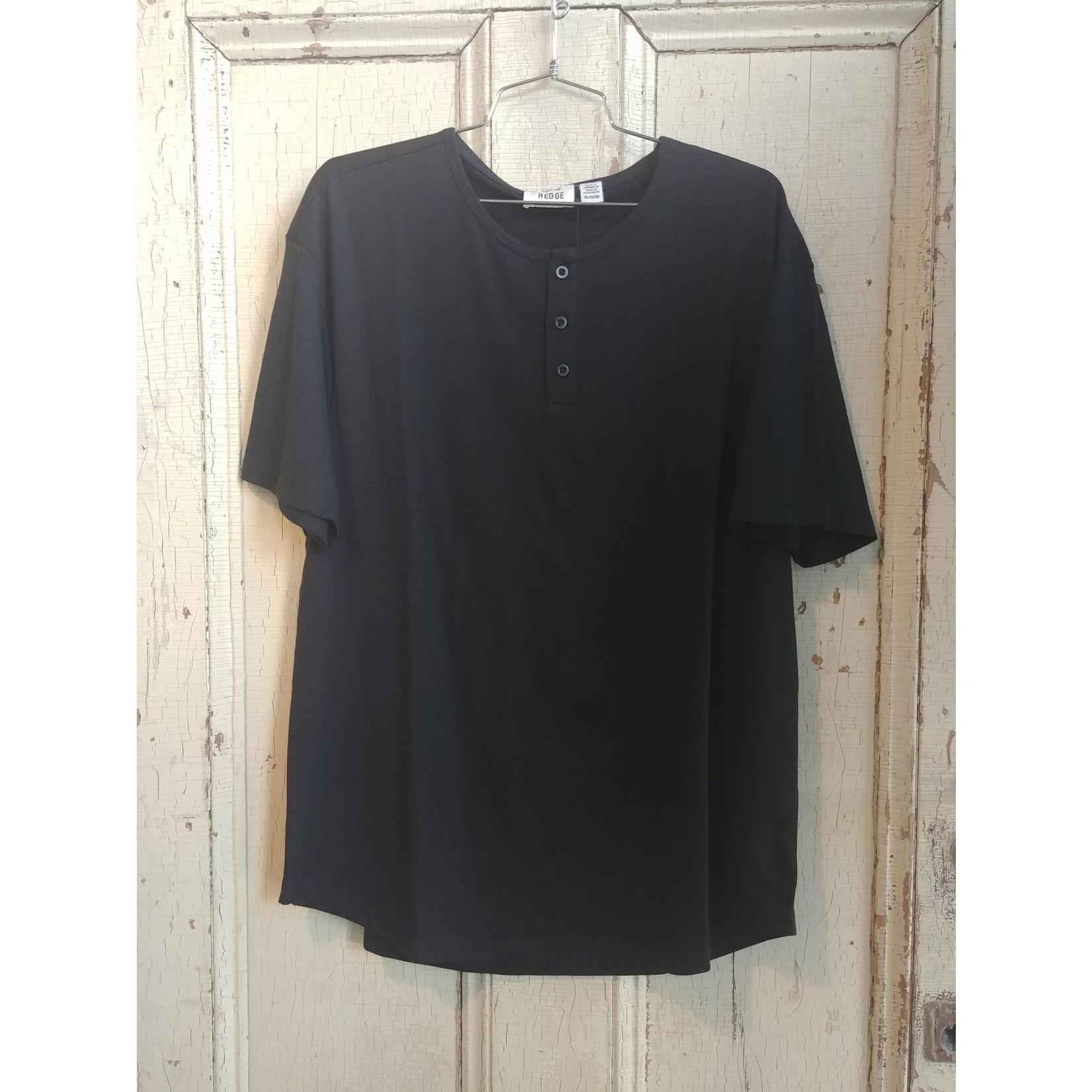 Hedge Men's Knit top black