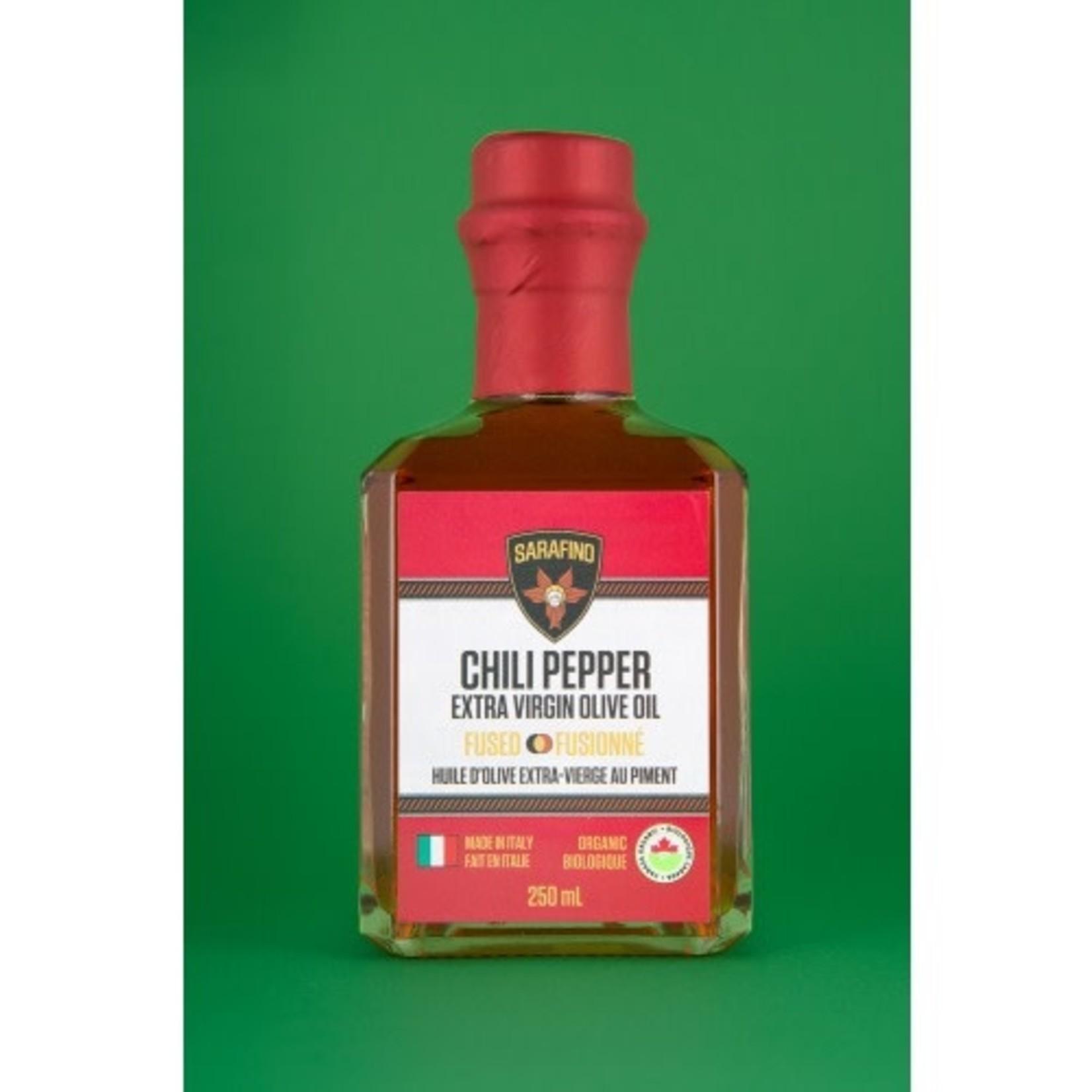Sarafino Inc. Organic Chili Pepper Fused EVOO 250ml