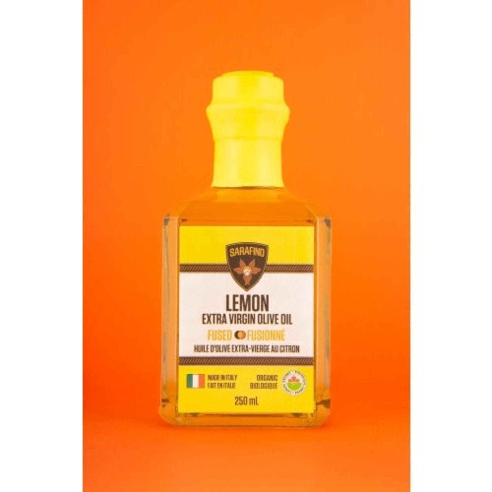 Sarafino Inc. Organic Lemon Fused EVOO 250ml