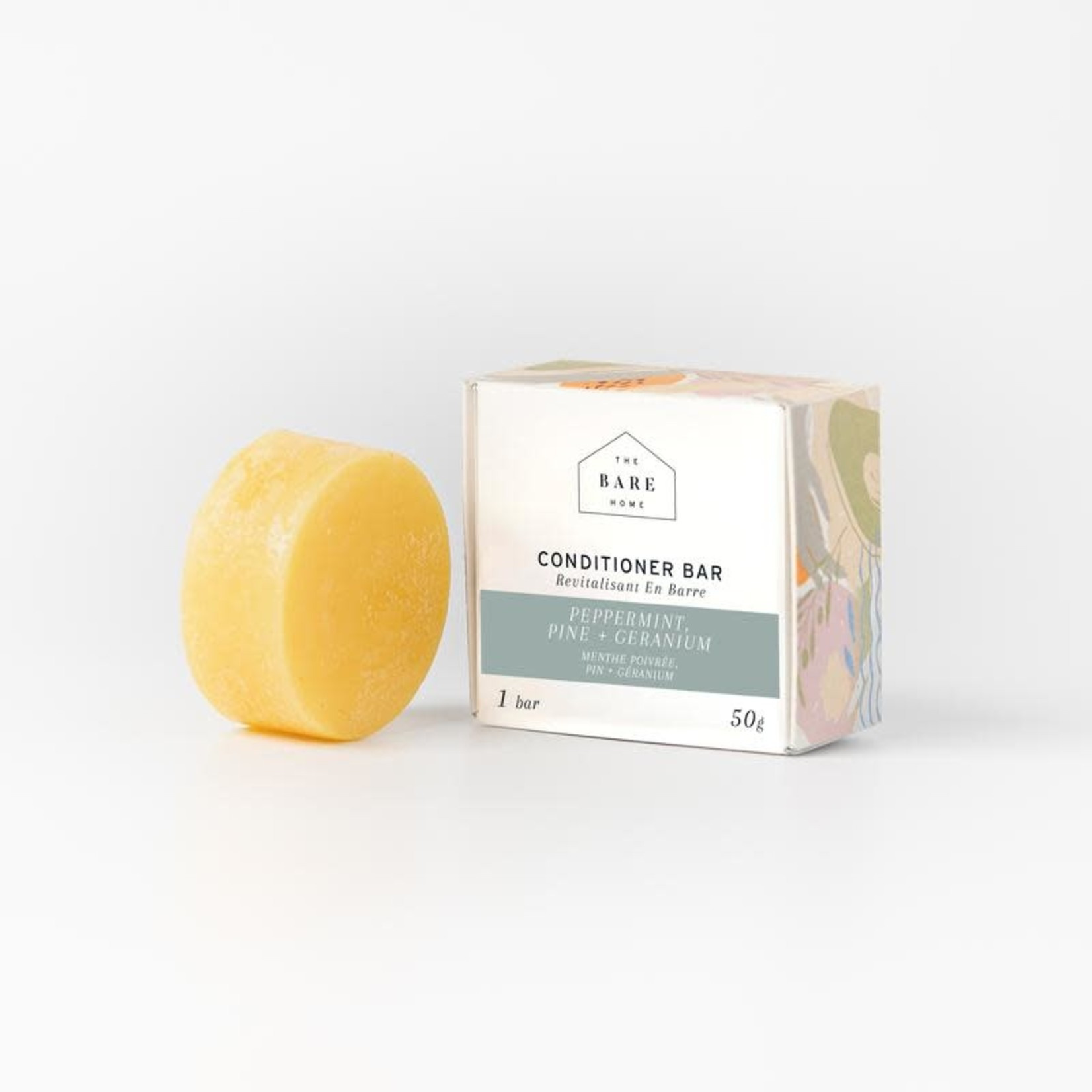 The Bare Home Conditioner Bar Pine and Peppermint