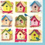 Abbott Birdhouse Paper Napkin