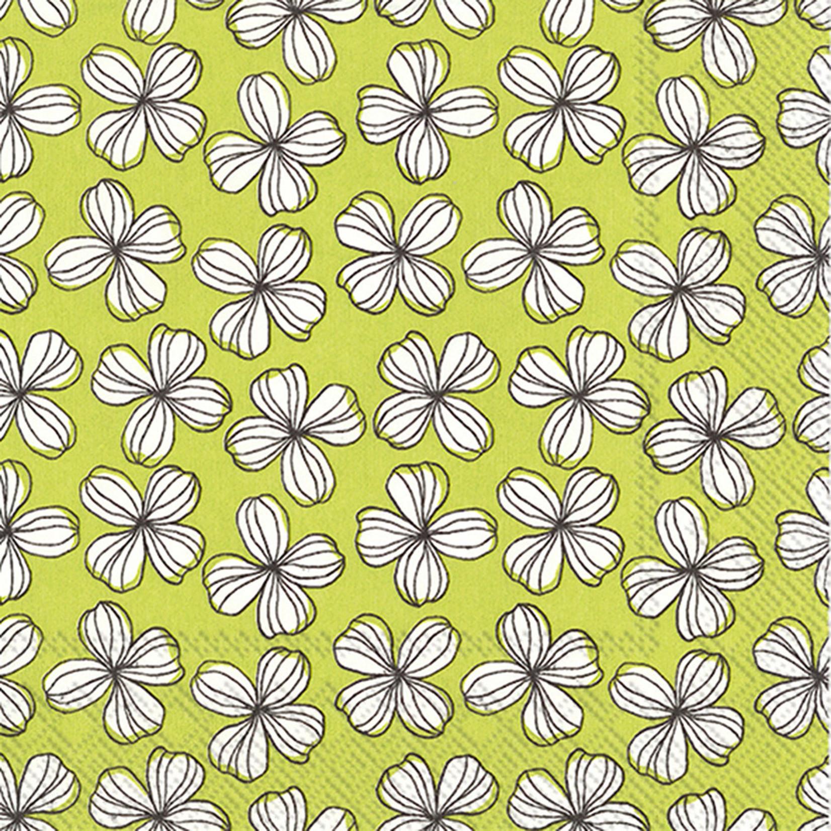 Abbott Lime Flower Napkin