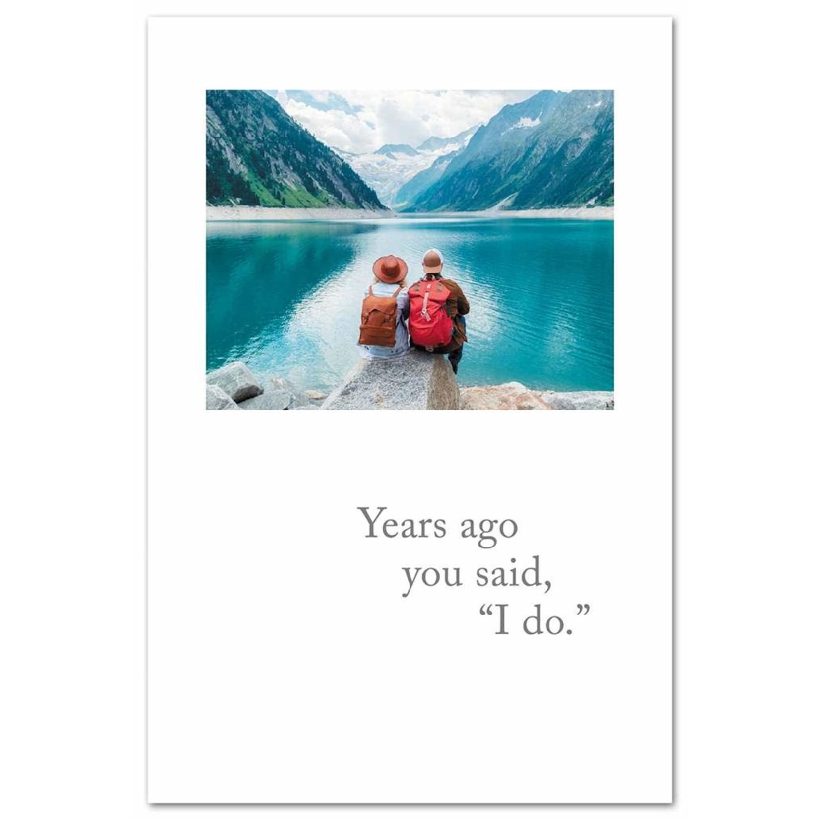 Cardthartic Anniversary Lake