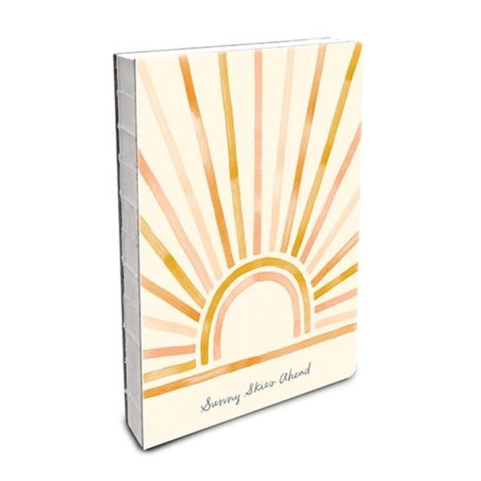 Orange Circle Studio Sunny Skies Ahead Notebook