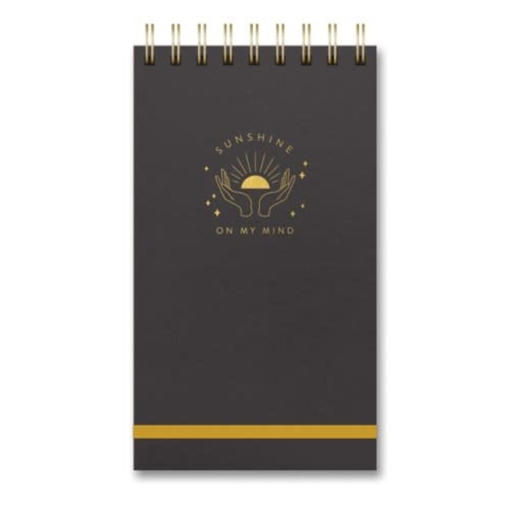 Orange Circle Studio Spiral Top Notebook