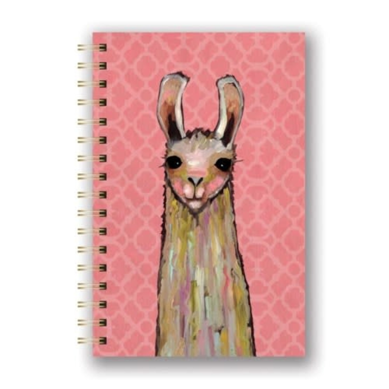 Orange Circle Studio La-La-La Llama Notebook