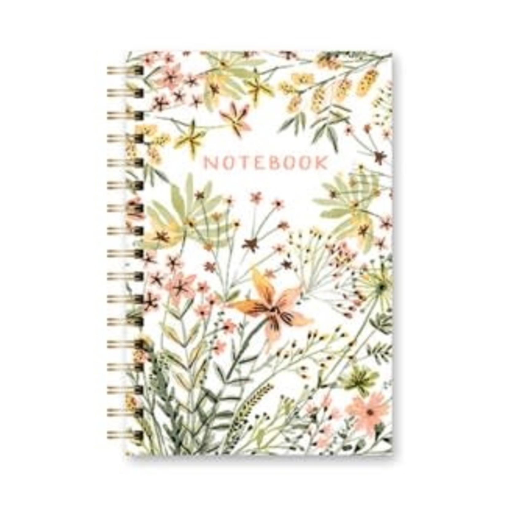 Orange Circle Studio Spiral Notebook Wildflowers