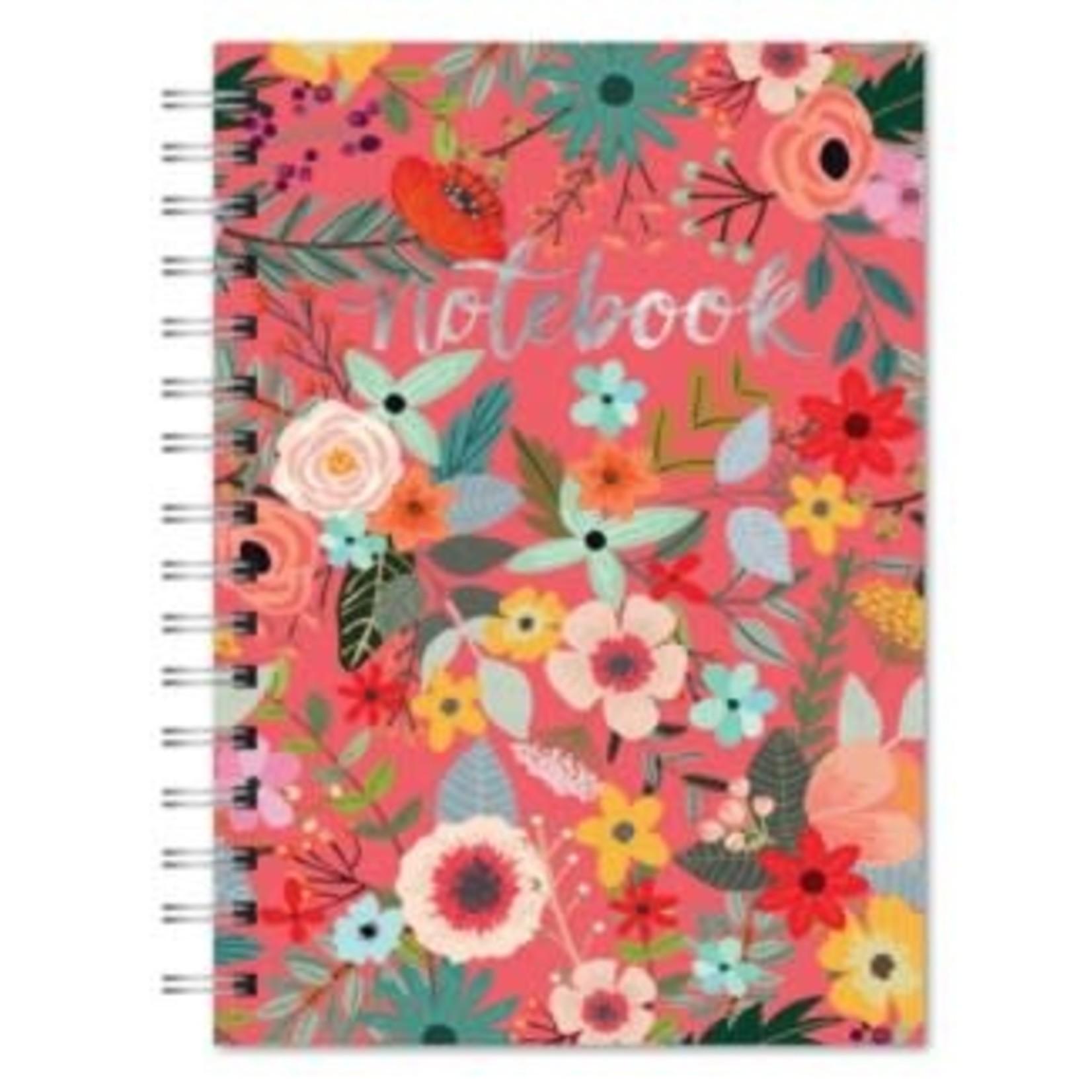 Orange Circle Studio Secret Garden Spiral Notebook