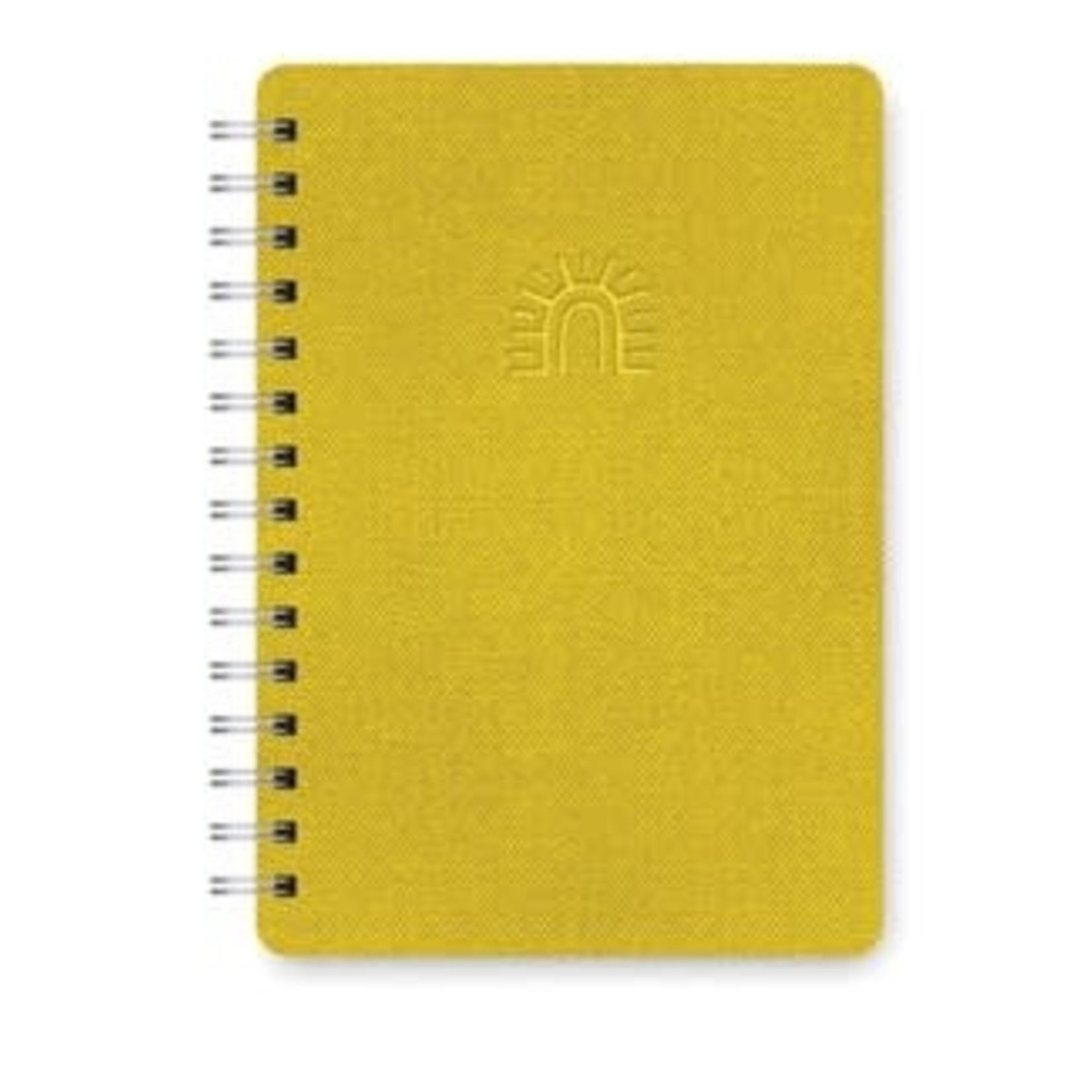 Orange Circle Studio Sunshine Agatha Notebook
